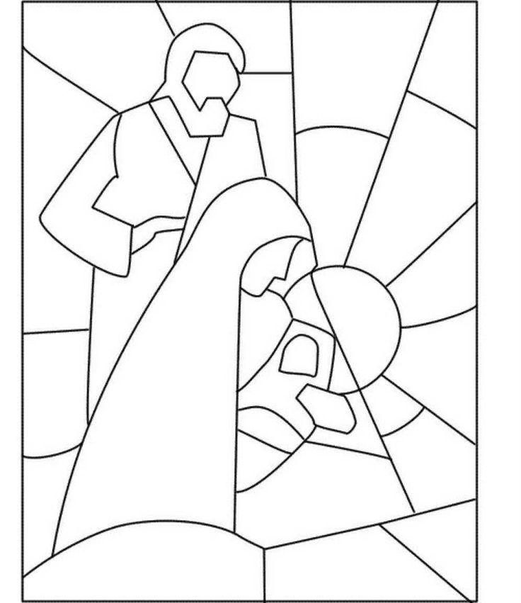 San José Virgen María Niño Jesús idea navi... - Manualidades