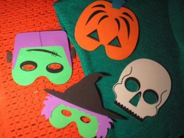 Cómo Hacer Máscaras De Halloween Fáciles Manualidades