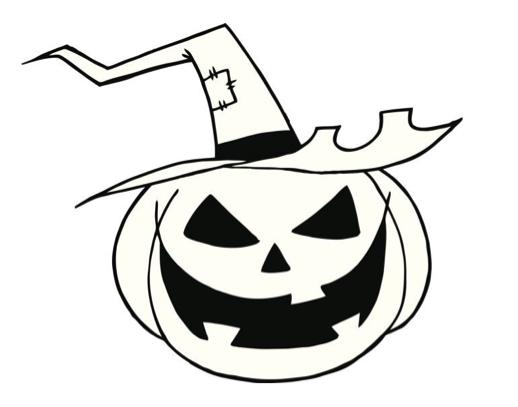 Las mejores calabazas de halloween para colorear 100 - Calabaza halloween para colorear ...
