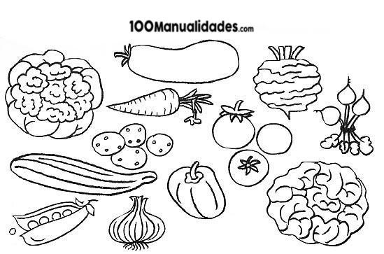 Imagenes De Verduras Para Recortar Verduras Y Frutas Para Imprimir