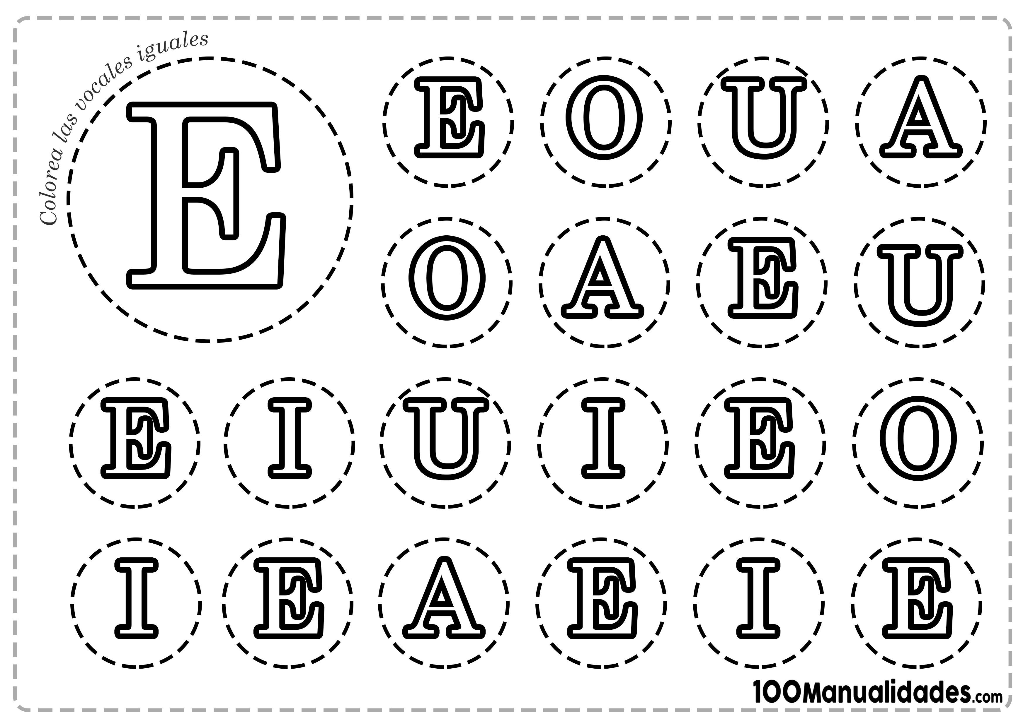 Letra E Mayúscula para colorear - Letras para Imprimir
