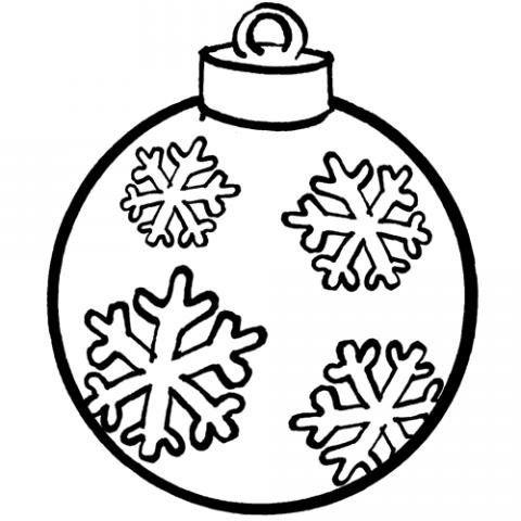 Bola de navidad dibujo gratis para ni os 100 for Dibujo bola navidad