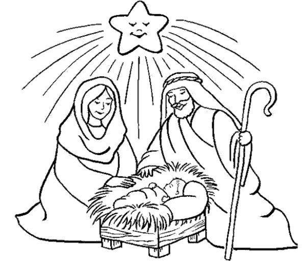 Dibujos de Navidad para imprimir y colorear... – Manualidades