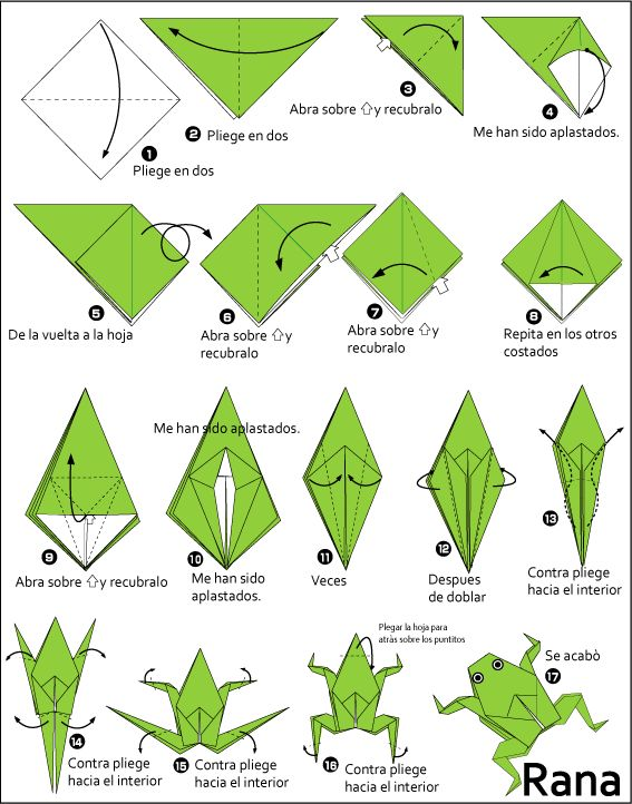 Figuras de origami paso a paso de animales buscar con - Como hacer figuras de fieltro paso a paso ...