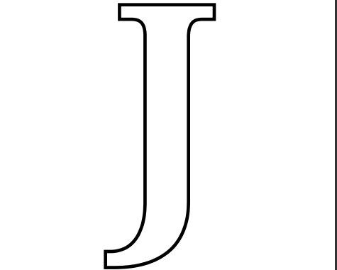 Imprimir-Letra-J-para-Recortar-Colorear.jpg 475×380 píxeis ...