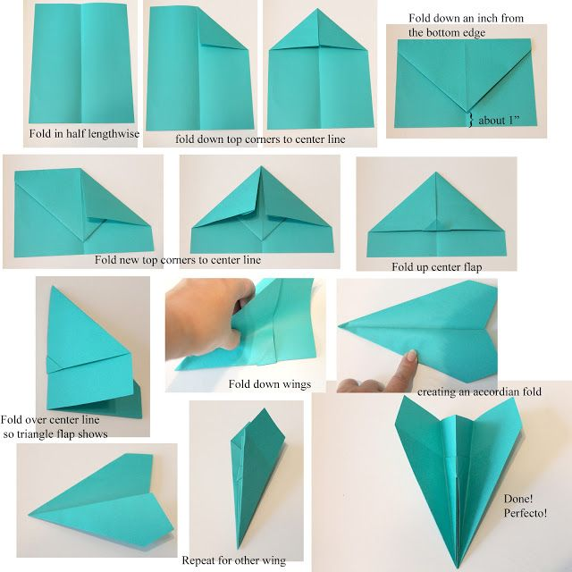 youtube how to make a paper airplane easy