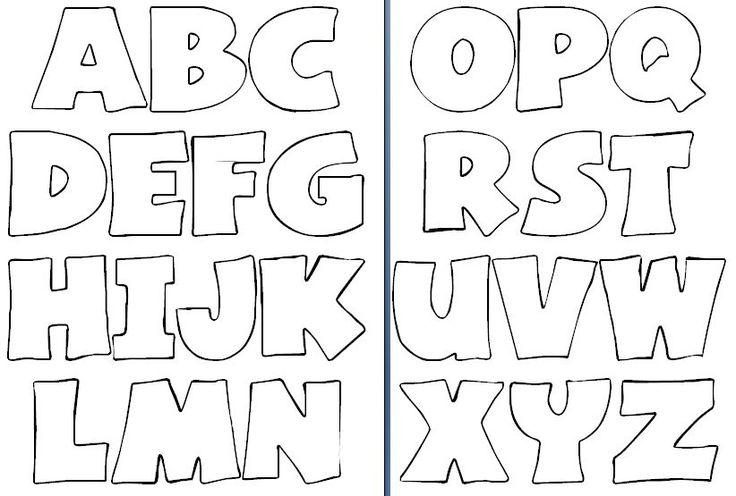 Moldes de letras para imprimir y recortar gratis - Imagui ...