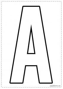 Moldes Gratis Letras Para Hacer Letreros Y Guirnaldas