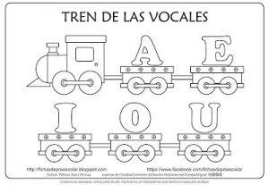 Vocales Para Colorear Con Dibujos Archivos Página 17 De 23