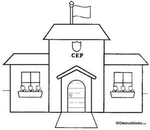 Dibujo De Escuela Jardin Archivos Manualidades
