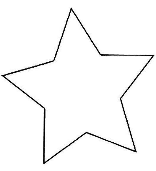 Imagenes de estrellas para colorear grandes   Imagui – Manualidades