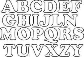 Letras Para Recortar E Imprimir Gratis Archivos Manualidades