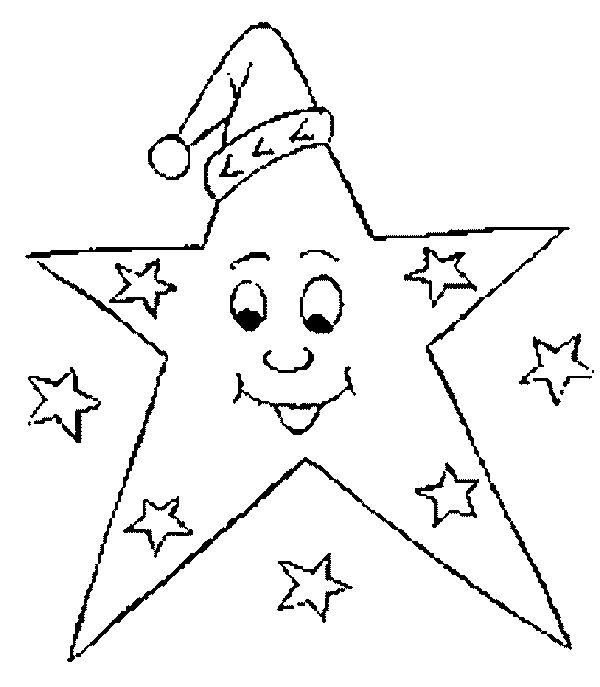 Estrellas De Navidad Para Colorear 9 Manualidades