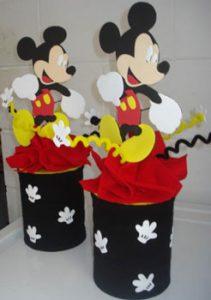 Centro-de-mesa-de-Mickey-Mouse